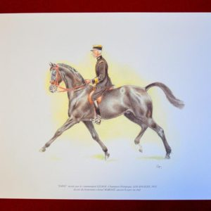 Lithographie colonel Margot