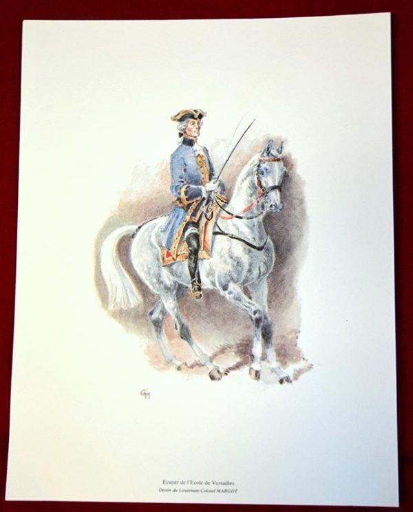 Lithographie Versailles